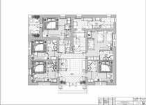 План расстановки мебели, техники и оборудования