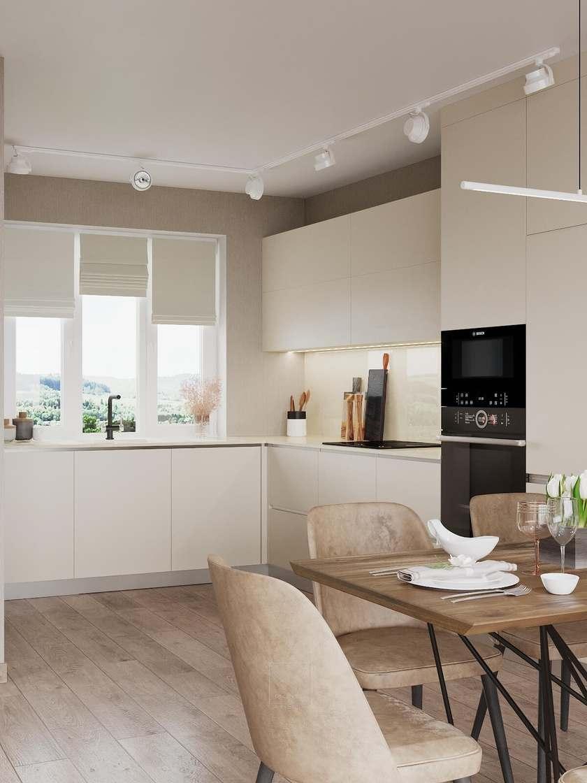 Дизайн кухни - немецкий минимализм