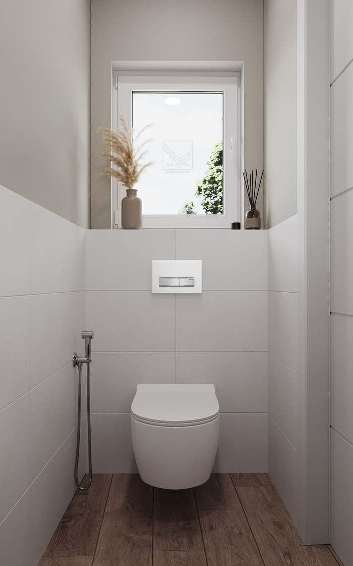 Дизайн санузла - немецкий минимализм
